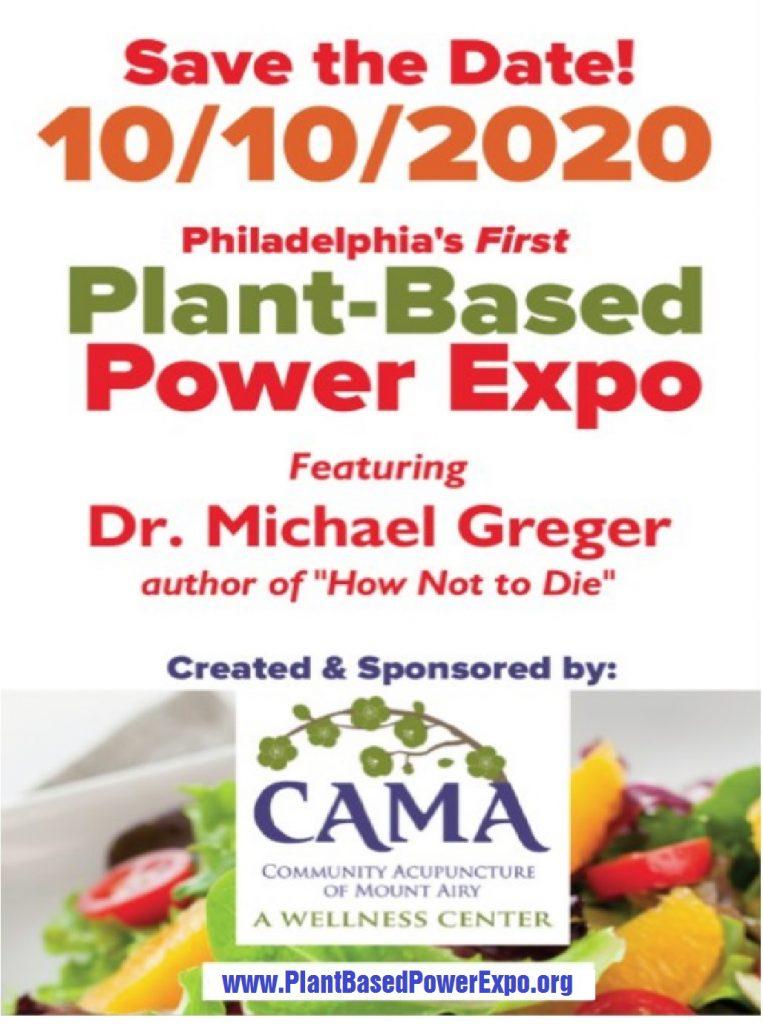 PlantBasedPowerExpo Poster 8x11